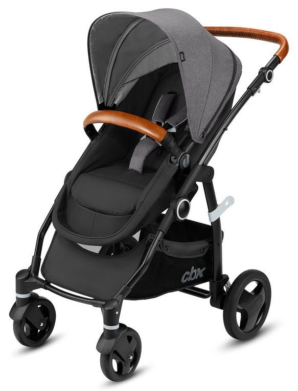 Коляска-трансформер CBX by Cybex Leotie Flex Lux Comfy Grey в Атырау