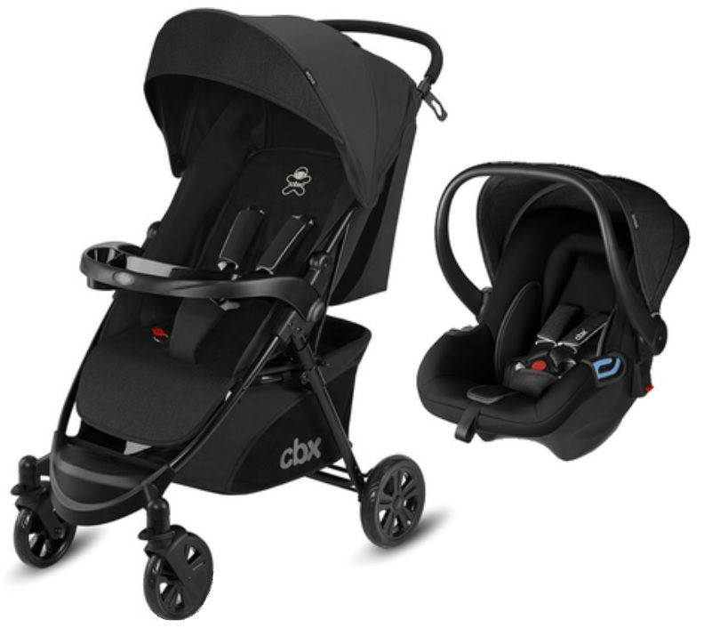 Коляска 2в1 CBX by Cybex Woya Travel System Smoky Anthracite в Атырау