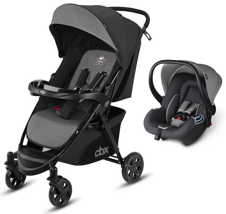 Коляска 2в1 CBX by Cybex Woya Travel System Comfy Grey в Атырау