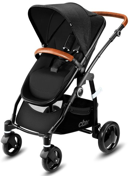 Коляска 2в1 CBX by Cybex Leotie Lux Smoky Anthracite в #REGION_NAME_DECLINE_PP#