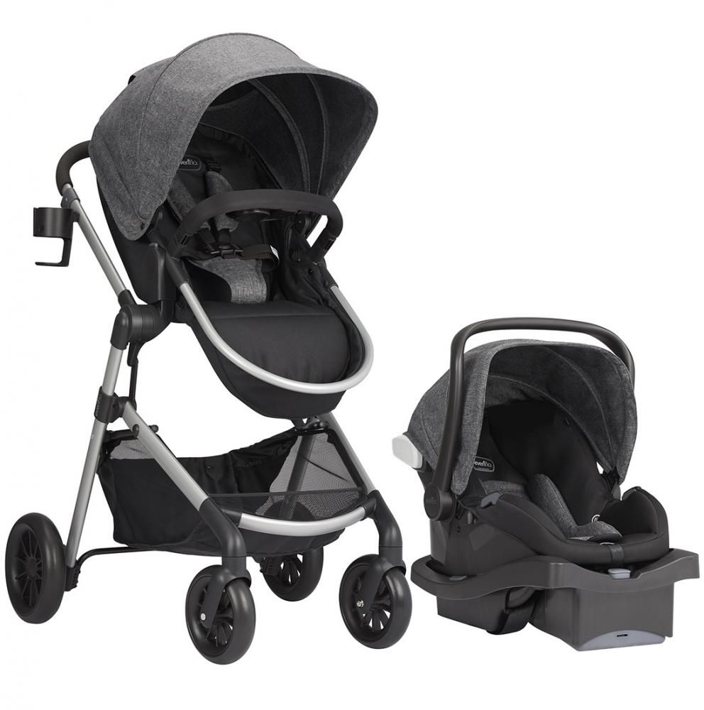 Коляска Evenflo Travel System Pivot Aspen Sky в #REGION_NAME_DECLINE_PP#